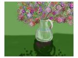 flowers 3 Affiches par Claire Westwood