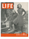 LIFE Leotard Fashion 1943 Prints by  Anonymous