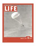 Anonymous - LIFE Parachute Test 1937 Speciální digitálně vytištěná reprodukce