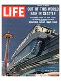 LIFE Seattle World Fair Monorail Art by  Anonymous
