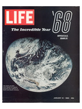 LIFE '68 the incredible year Giclee-tryk i høj kvalitet af Anonymous