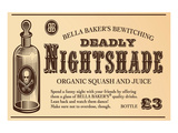 Deadly Nightshade Prints by  Anonymous