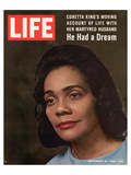 LIFE Coretta 'He had a dream' Posters by  Anonymous