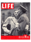 LIFE Soldier's Farewell 1943 Print by  Anonymous