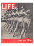 LIFE Metropolitan's opera Ballet Plakaty autor Anonymous