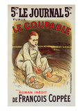 Le Coupable de Francois Coppée Posters by Théophile Steinlen