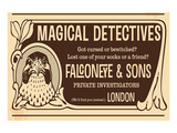 Magical Detectives Falconeye Posters by  Anonymous