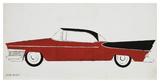 Car, c.1959 (red) Pósters por Andy Warhol