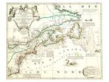 Nouvelle France Québec Canada Prints by Jean Baptiste Nolin