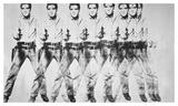 Eight Elvis, 1963 Plakaty autor Andy Warhol