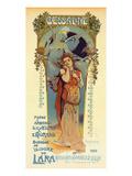 Messaline - Opera Poster by  Lorent-Heilbronn