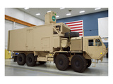 rugged laser beam Tactical Truck Art by  Anonymous