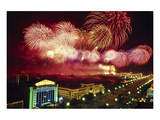 Tianemen Sq. Beijing Fireworks Prints by  Anonymous