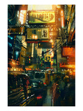 Metropolis Shopping District Prints by  Anonymous