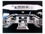 Shuttle Electronic Flight Deck Prints by  Anonymous