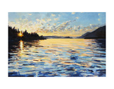 Lake Pend Oreille Print by Kelly Johnston