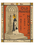 Old Houses of Norwich Print by  Anonymous