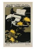 Miss Träumerei Poster von Ethel Reed