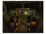 twin-engine 757 flight Deck Prints by  Anonymous