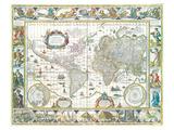 nova totius terrarum orbis Prints by Willem Blaeu