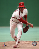Jim Lonborg 1977 Action Photo