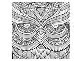 Symmetric wing arches lineart Poster by  Anonymous