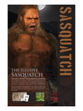 Sasquatch Poster by  Anonymous