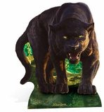 Bagheera - Live Action Jungle Book Pappfigurer