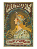 Whitman's Chocolates Philadelphia Prints by  Anonymous