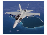 The F/A-18E/F Super Hornet Kunst van  Anonymous