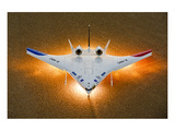 X-48C heavy-lift subsonic aircraft Prints by  Anonymous