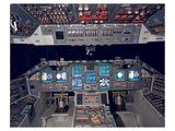 Shuttle Flight Deck Prints by  Anonymous
