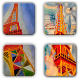 Robert Delaunay Coaster Set 1 - Coaster