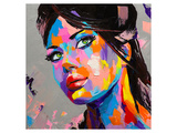 Slick Palette-Knife Girl Posters by  Anonymous