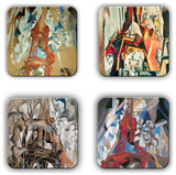 Robert Delaunay Coaster Set 3 - Coaster