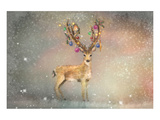Stag of Winter Prints by Claire Westwood