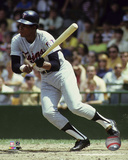 Rod Carew 1971 Action Photo