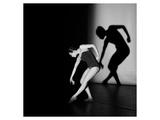 Playing with the shadow Poster von Evgeniya Pirshina