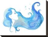 Dreaming of the Sea Opspændt lærredstryk af Jessica Durrant