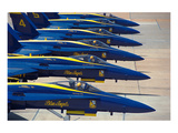 Squadron of F/A-18 Hornet fighters Prints by  Anonymous