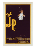 The J.P. Theater Play Print by Dudley Hardy