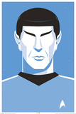 Star Trek: 50th Anniversary- Deco Spock Posters