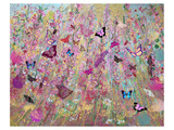 Wild flowers Plakater af Claire Westwood