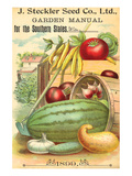 Steckler Southern States Seeds Print by  Anonymous