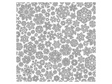 Snow Flake Crystals Patterns Posters by  Anonymous