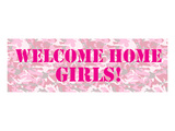 Welcome Home Girls Prints by  Anonymous