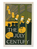 The July Century Prints by Charles Woodbury