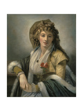 Anna Maria Ferri, the Artist's First Wife Giclee Print by Robert Fagan