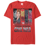 Captain America Civil War- Team Stark T-shirts