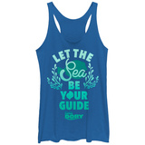 Juniors Tank Top: Finding Dory- Sea Guide Womens Tank Tops